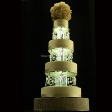 Acrylic Wedding Cake Stand Wedding Cake Tiers With Lights