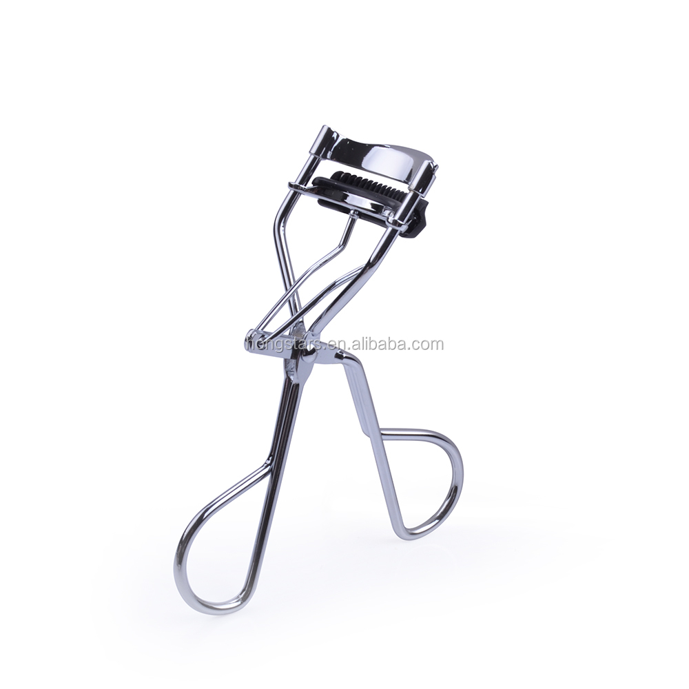 Hot sale silicone handle heated color eyelash curler