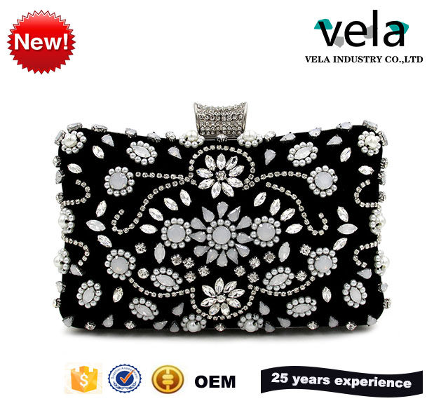 Vela online shop china clutch bags or indian bridal handbags for evening party