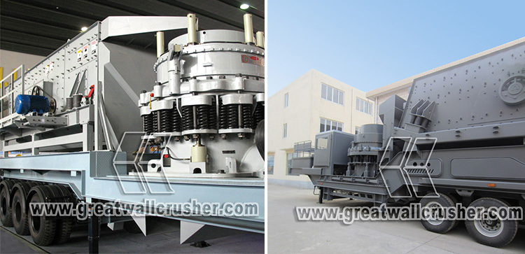 Tire /Wheeled Type Mobile Crushing Plant