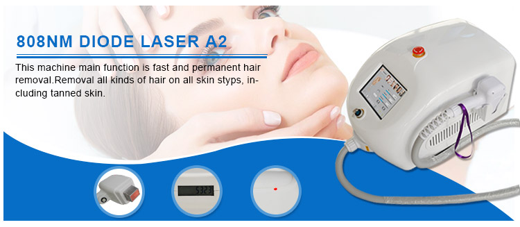 2017 New CE Approved 808&810nm Permanent Laser Hair Removal
