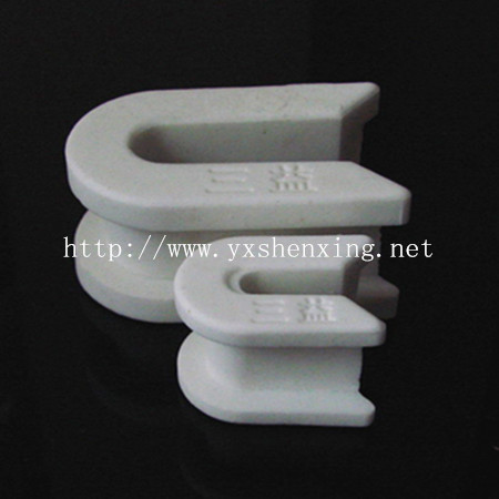 High hardness industrial insulating 95% al2o3 alumina textile ceramic eyelets