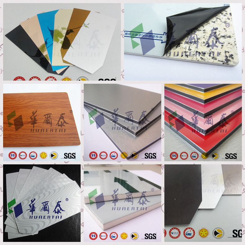 High quality fireproof acp cladding construction materials price