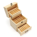 China Top Supplier Wood Doterra Storage Box Essential Oil Holder Box