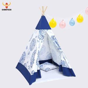 2017 teepee tent children kids play house tent manufacturer
