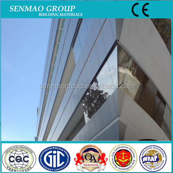 outdoor perforated aluminium plastic composite boards/metal wall cladding