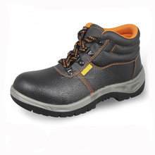 High quality oil leather safety shoes work construction safety shoes in Guangzhou