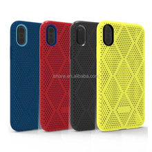 Dual Color TPU Built-in Thin PC Three Layered Shock Proof Fashion Hybrid Amor Case for iPhone X
