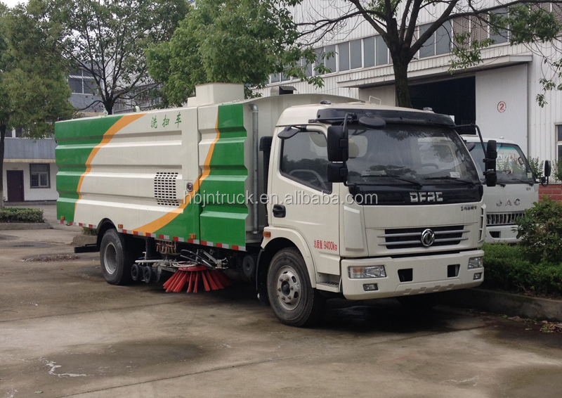 Dongfeng road sweeping vehicle