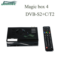 Joinwe New Magicbox Mg4 Hd Satellite Receiver Dvb-s2/t2/c 300mhz Wifi Build In Magic Box Mg4 More Powerful
