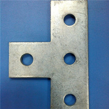 Metal stamping stainless steel T connection strap angle bracing