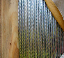 1x7 Galvanized Steel Wire Strand for Messenger Wire