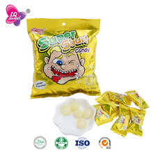 LQH-001 Sweets Filling Fruit Flavor Super Sour Hard Candy