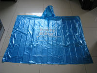 Promotional Waterproof Disposable cheap rain poncho
