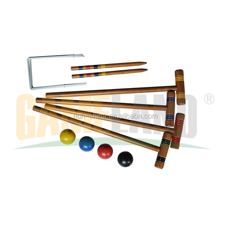 Croquet set Yard Game For 4 Players