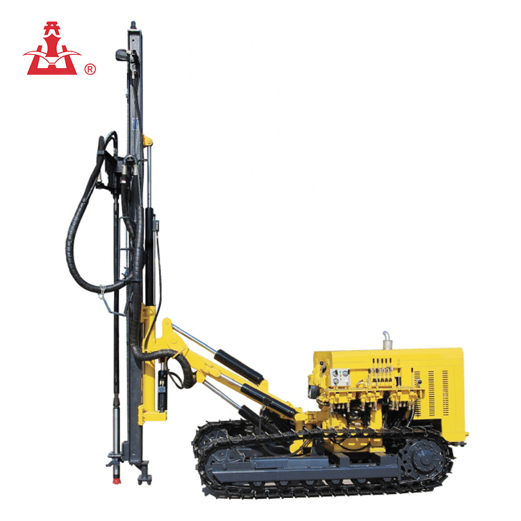 KAISHAN brand Multi-function 25m KG920A Crawler Top Drive rotary drilling rig/hydraulic mining drilling rig