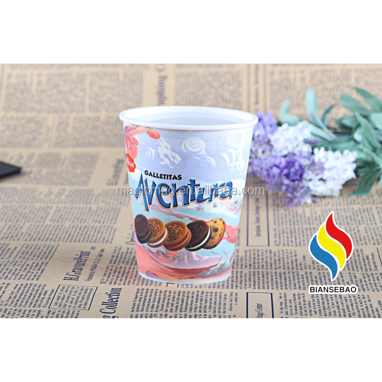 OEM Custom Made Temperature Color Changing Plastic Cup