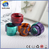 2016 hot!!top quality epoxy resin drip tips,wholesale natural stone mouthpieces for rda atomizer in stock