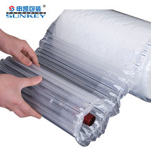 Durable in use inflatable air bubble bag cushion inner stuffing plastic packing for protective