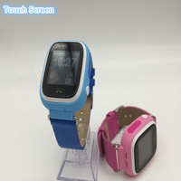 Cool smart watch kids GPS with blue red color watch for kids