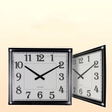 decoration coffee shop color quartz digital wall clock