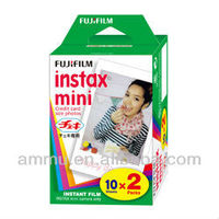 Fujifilm Fuji Instax Mini Film Plain White Edge Blank Twin Packs Polaroid Camera Film