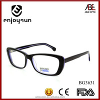 2015 hotsell transparent color round fashion acetate hand made spectacles optical frames eyewear eyeglasses