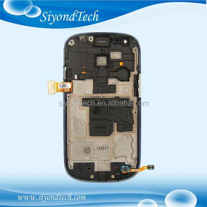 NEW LCD Screen with Touch Screen Assembly with frame For Samsung Galaxy S3 Mini I8190