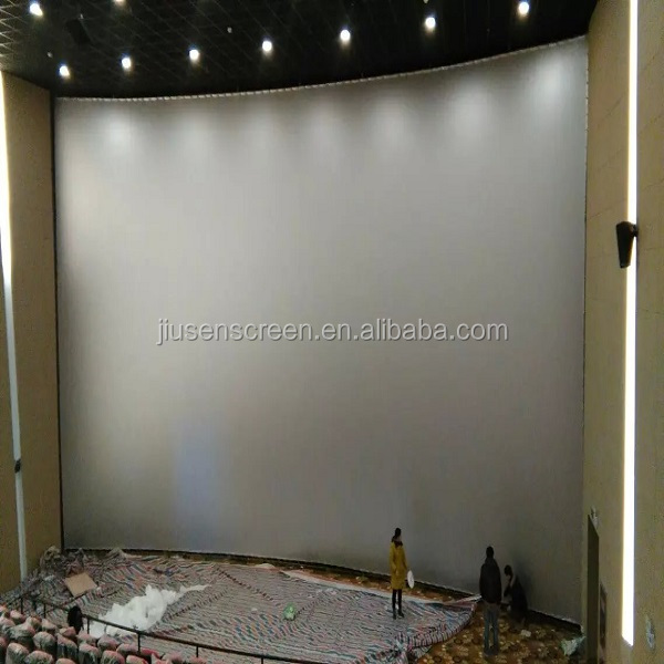 perforated big cinema screen accept any size