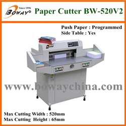National Standard Drafter Boway 520mm Electric Programmed Paper Cutting Machine