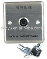 Stainless Steel Panel Emergency Door Push Button with Key PY-DB13
