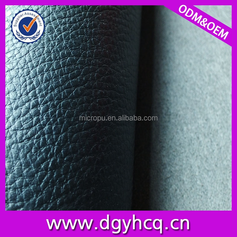 best quality classic imitation genuine leather microfiber leather for sofa upholstery