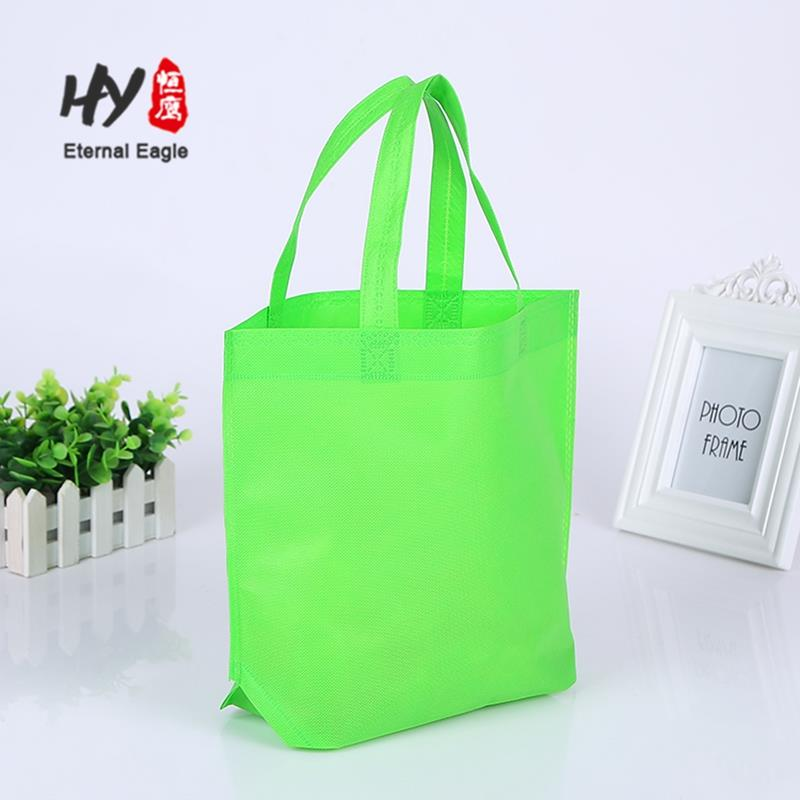 Supermarket lovely nonwoven portable stylish shopping bags