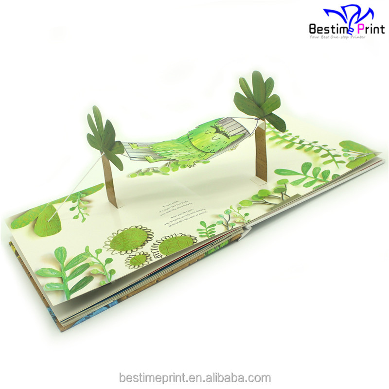 Children Cardboard Pop Up Book Printing Pop Up Book Publisher in Shenzhen
