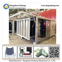 Hangzhou Pusheng Economical Widely Used 3D EPS Sandwich Panel Machine with Vacuum System