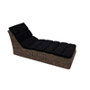 Hotel Swimming Pool Rattan Lounger Sun