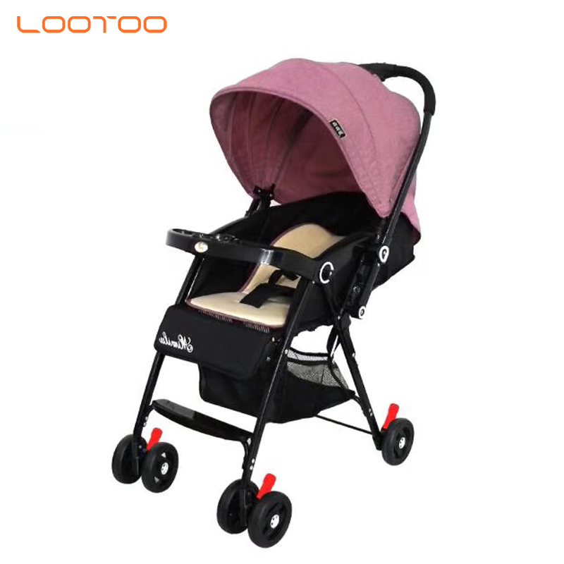 High quality hot sale onekey folding free kids baby stroller bicycle
