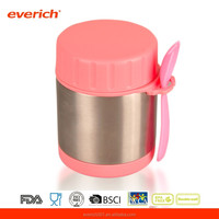 Two layers stainless steel insulation materials for lunch box