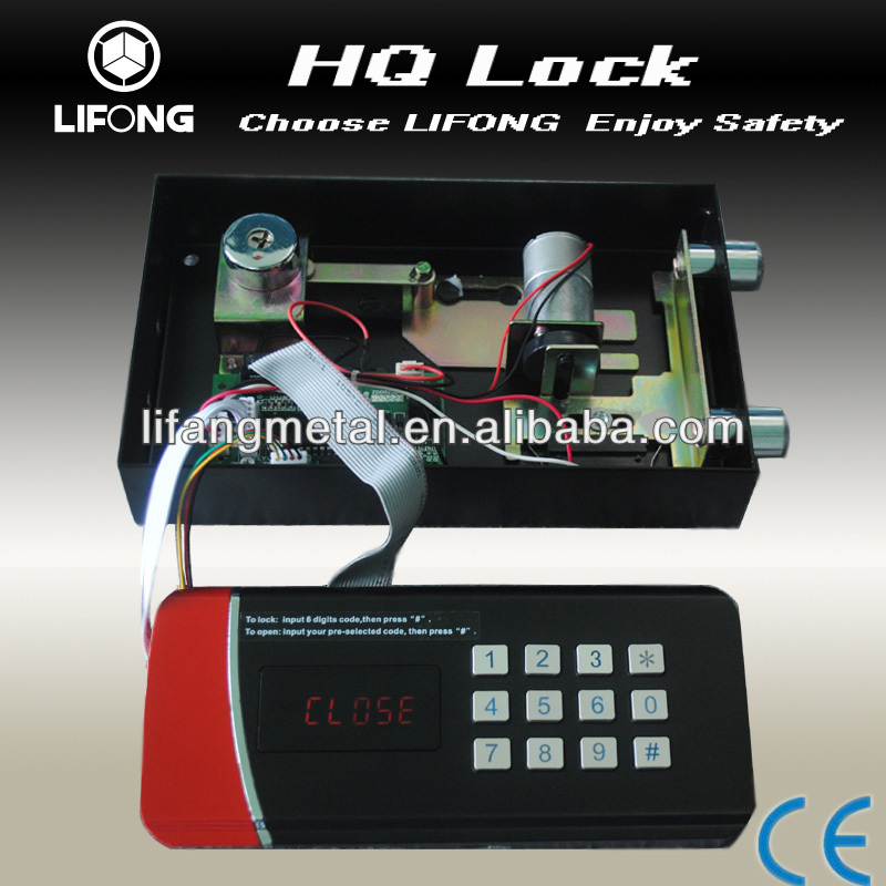 Factory supply safe lock mechanism for safe box