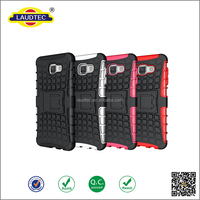 Tough Dual Layer Cover Shockproof Heavy Duty Impact Armor Case for Samsung galaxy A7 2016 with Stand Function