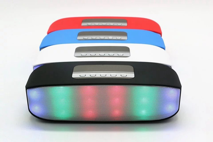 Shenzhen Factory commercial wireless bluetooth speakers LED HRW-SM015