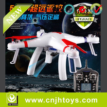 2015 Upgrad version !!! Hold position Auto-Ascend and One-key Auto Landing 2.4G 6-Axis Gyroscope RC Aircraft UFO with camera