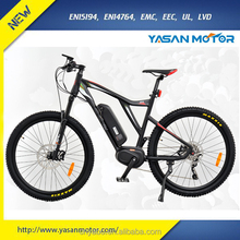 2017 BAFANG Mid Drive 350W 750W 1000W Motor Electric Bike For China Factory Electric Bike