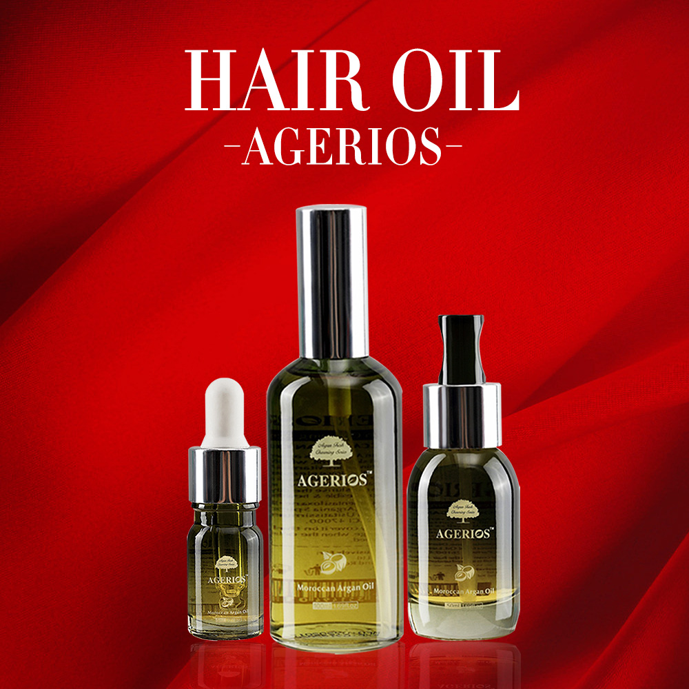 Customized organic italy argan oil for skin face hair care