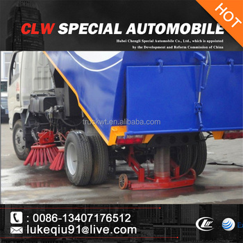 first choose higjh efficiency cleaning sweeper truck
