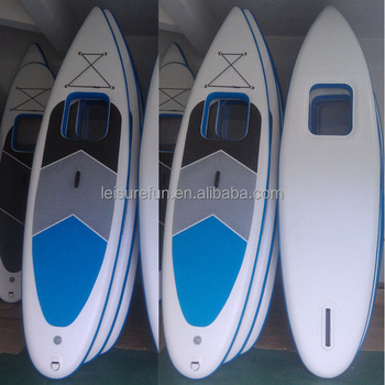 inflatable paddle board with window