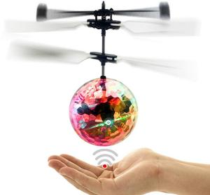 Led light flashing mini flying ball, flying ball helicopter