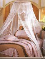 Dome Bed Canopy outdoor Netting Bedroom Conical Tassels decorative Mosquito net