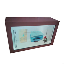 22 inch aluminum flexible full color transparent lcd display