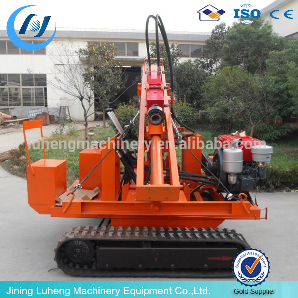 Crawler type Guardrail Post Pile Driver/Hydraulic Static Pile Driver /Ground Screw Piling Machine